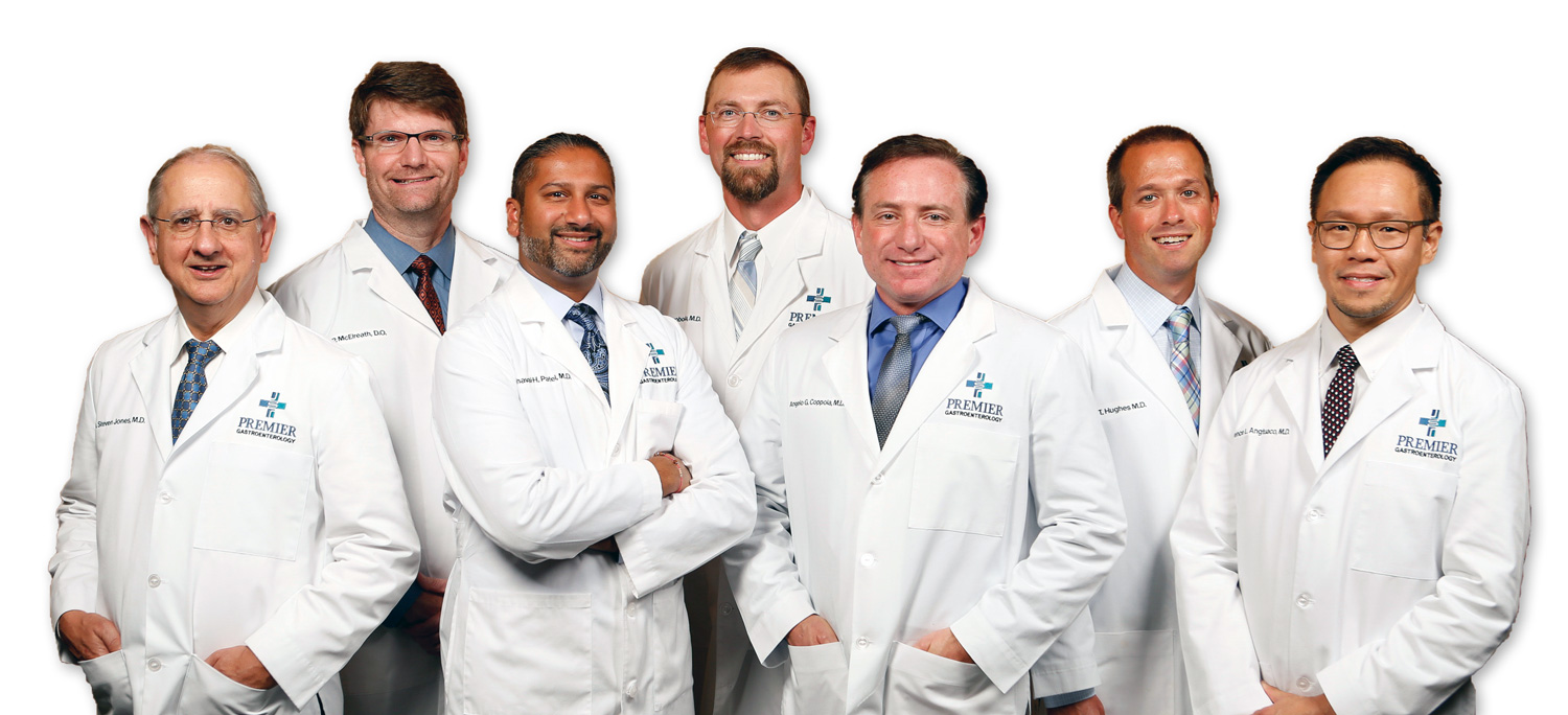 The doctors at Premier Gastroenterology